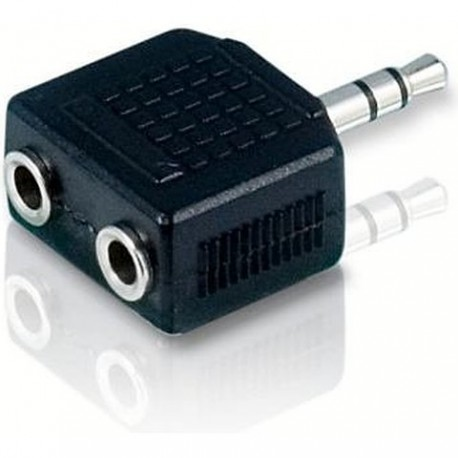 Adapter 3.5mm stereo jack - 2x3.5mm stereo jack