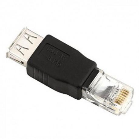 Adapter USB 2.0 (ženski) na RJ-45 (muški)