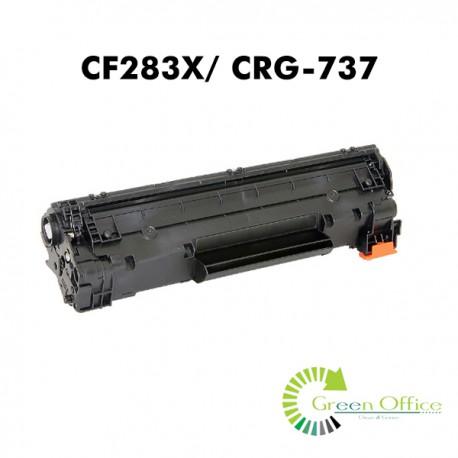 Zamenski toner CF283X/ CRG-737