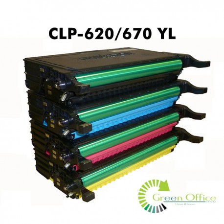 Zamenski toner CLP-620/670 YL