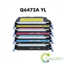 Zamenski toner Q6472A YL