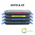 Zamenski toner C9721A CY