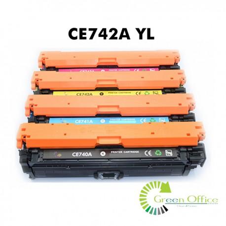 Zamenski toner CE742A YL