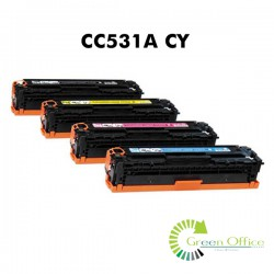 Zamenski toner CC531A CY