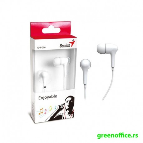 Slušalice GENIUS GHP-206 bele