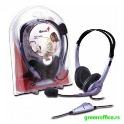 Slušalice GENIUS HS-04S sa mikrofonom