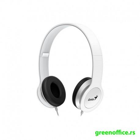 Slušalice GENIUS HS-M430 sa mikrofonom bele boje