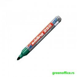 Board marker 250, cap-off zelena (Edding)