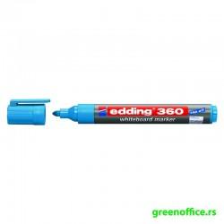 Board marker 360, zaobljeni crna (Edding)