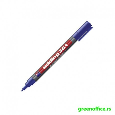 Whiteboard marker 361, 1mm crvena (Edding)