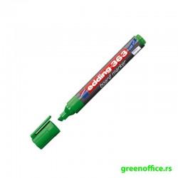 Board marker 363, kosi vrh zelena (Edding)