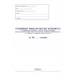 Godišnji finansijski izveštaj za dvojno knjigovodstvo