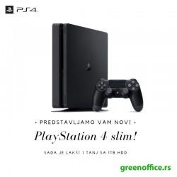 Sony PlayStation 4 Slim 1TB + 2 DualShock 4 + FIFA 19