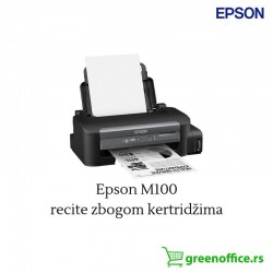 EPSON WorkForce M100 ITS/ciss mrežni PROMO inkjet crno-beli štampač