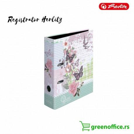 Registrator plastificirani Herlitz Butterfly samostojeći