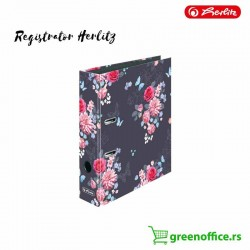 Registrator Herlitz Butterfly Flowers