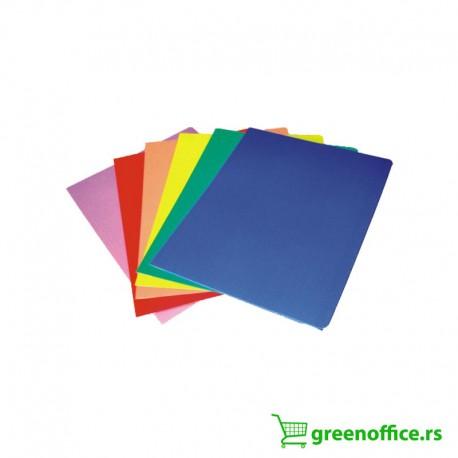 Fascikle za dokumenta A4 sa preklopom u boji