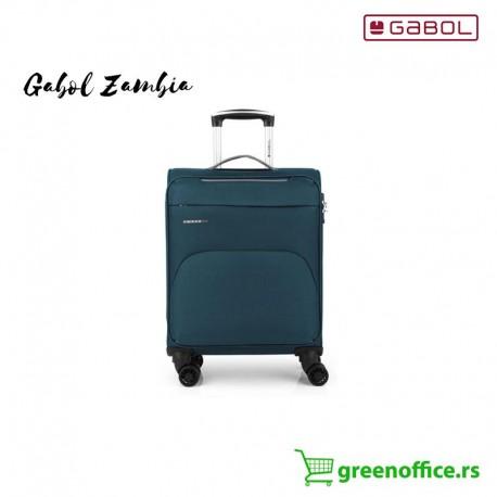 Gabol Zambia kabinski kofer petrolej boje