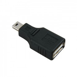 Adapter Mini USB na USB 2.0 (muško/ženski)