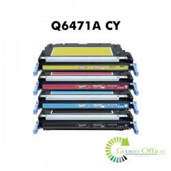 Zamenski toner Q6471A CY