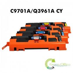 Zamenski toner C9701A/Q3961A CY