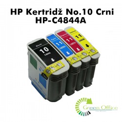 HP Kertridž No.10 Crni HP-C4844A