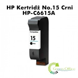 HP Kertridž No.15 Crna HP-C6615A
