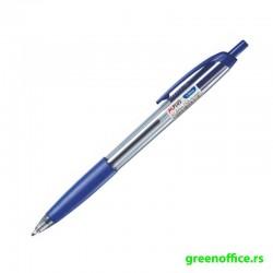 Hemijska olovka KB134000 sa gripom 1 mm plava