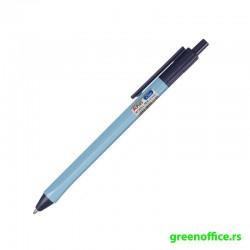 Hemijska olovka KB166000 trouglasta blanko 0,7 mm crna