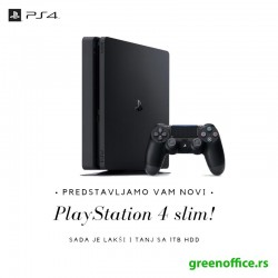 Sony PlayStation 4 Slim 1TB + 2 DualShock 4 + FIFA 19