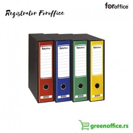 Registrator A4 široki u crnoj kutiji FORoffice