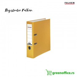 Registrator PVC normal A4 Falken žuta