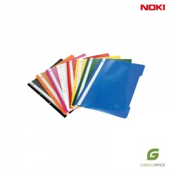 PVC Fascikle sa polumehanikom A4 Noki mix boje