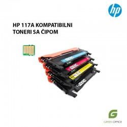 Kompatibilni toneri u boji sa čipom HP W2070A | W2071A | W2072A | W2073A (117A)