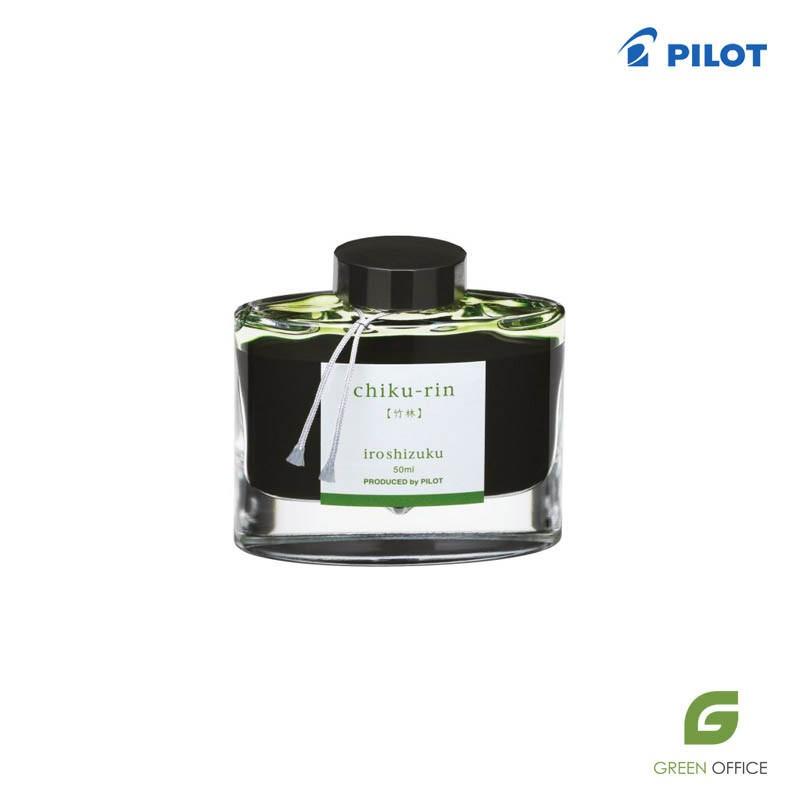 Pilot Iroshizuku Chiku-rin svetlo zeleno mastilo