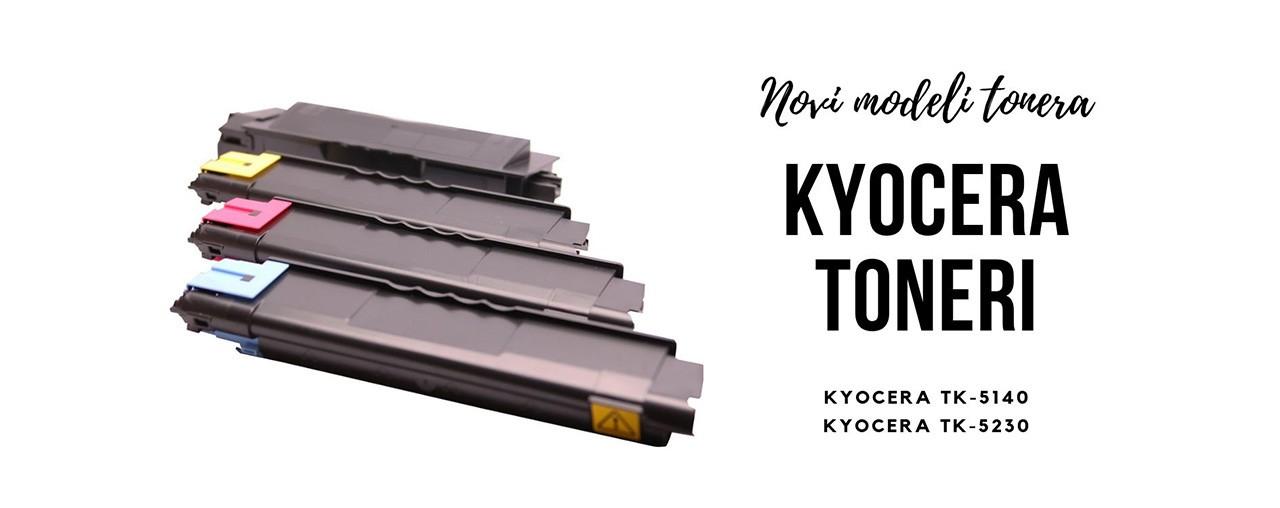 Novi modeli tonera za Kyocera štampače